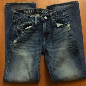 American Eagle Outfitters Jeans - Men's American Eagle low rise bootcut jeans 29x32